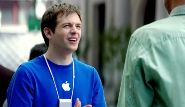 Genius da Apple em comercial