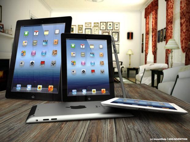 Mockup 3D do iPad mini