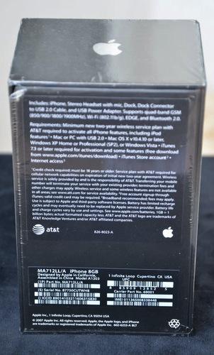 iPhone original, lacrado, à venda no eBay