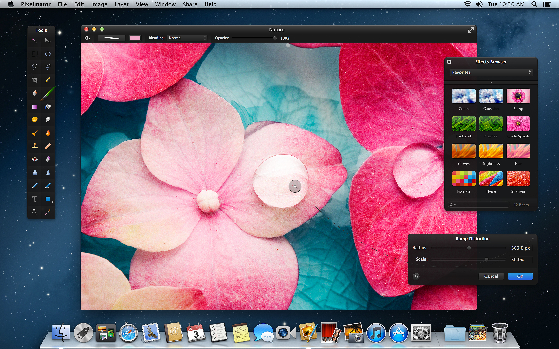 Pixelmator 2.1 - Mac OS X