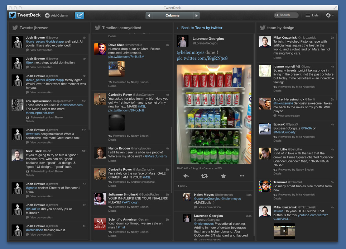 TweetDeck 1.5.3 no Mac