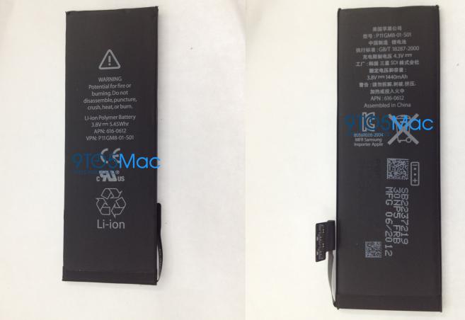 Suposta bateria do iPhone de sexta geração