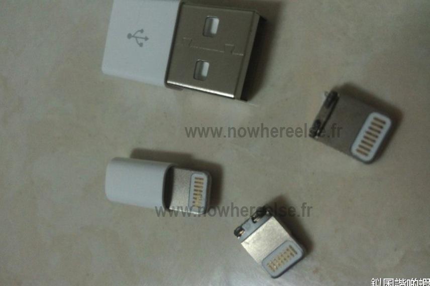 Possível conector 9 pinos do novo iPhone