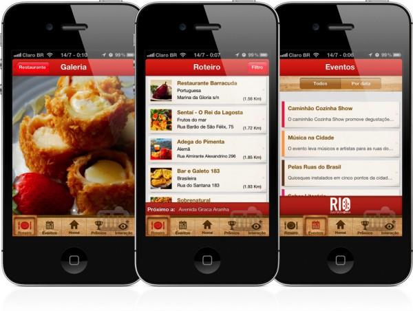 App Rio Gastronomia