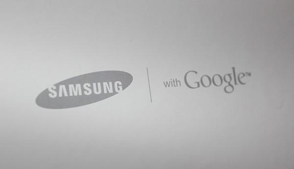 Logo da Samsung e do Google