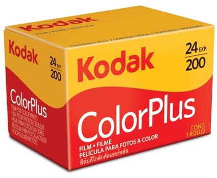 Caixa de filme da Kodak