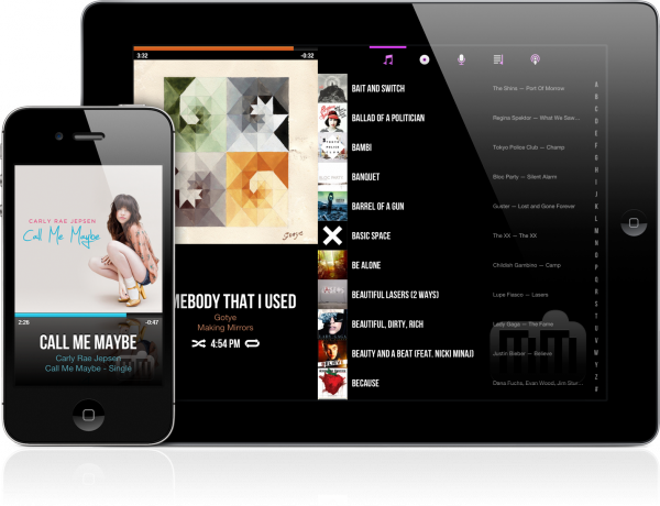 CarTunes Music Player - iPad e iPhone