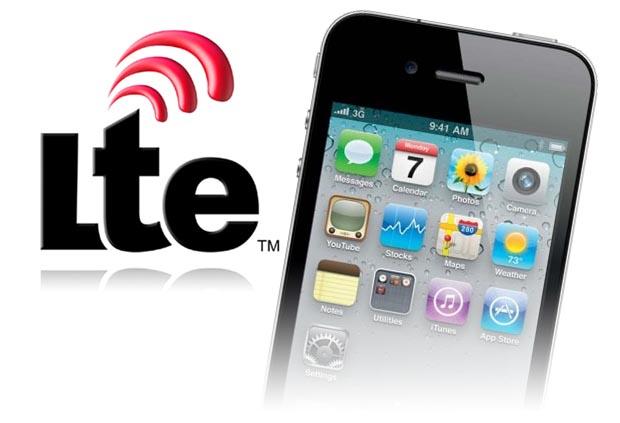 iPhone com suporte a redes LTE