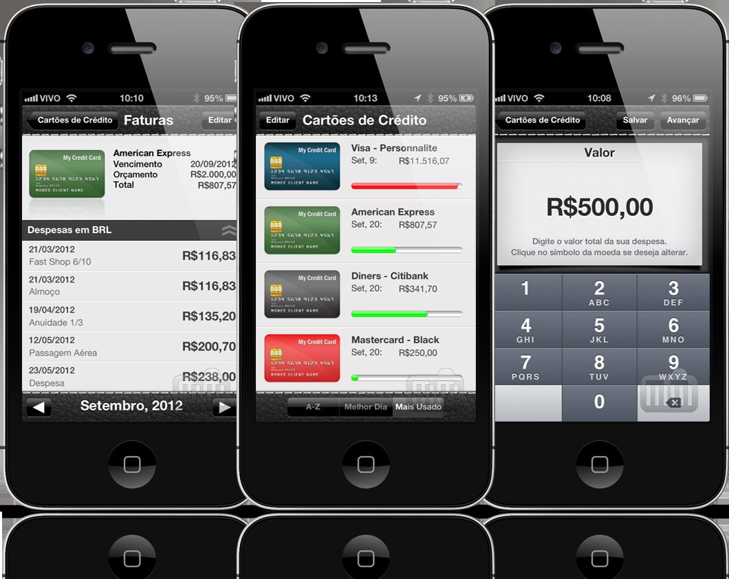 Meus Cartões de Crédito - iPhones