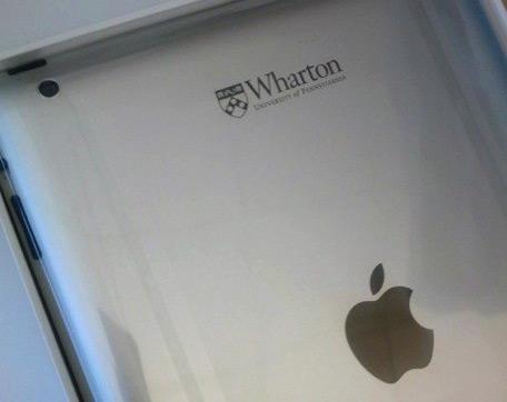 iPad da Wharton