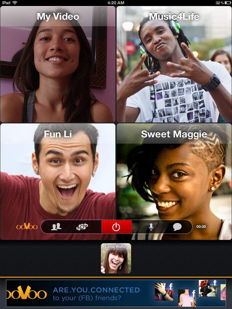 ooVoo Video Chat - iPad