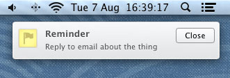 Sticky Notifications no Mac