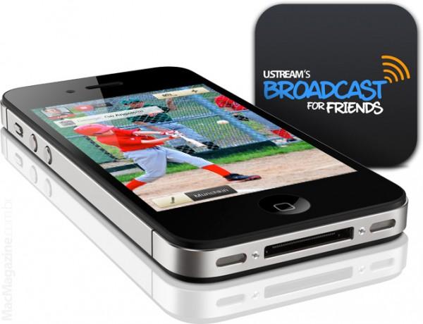 Ustream BFF no iPhone