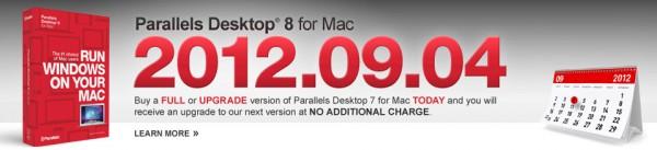 Parallels Desktop 8 para Mac chegando