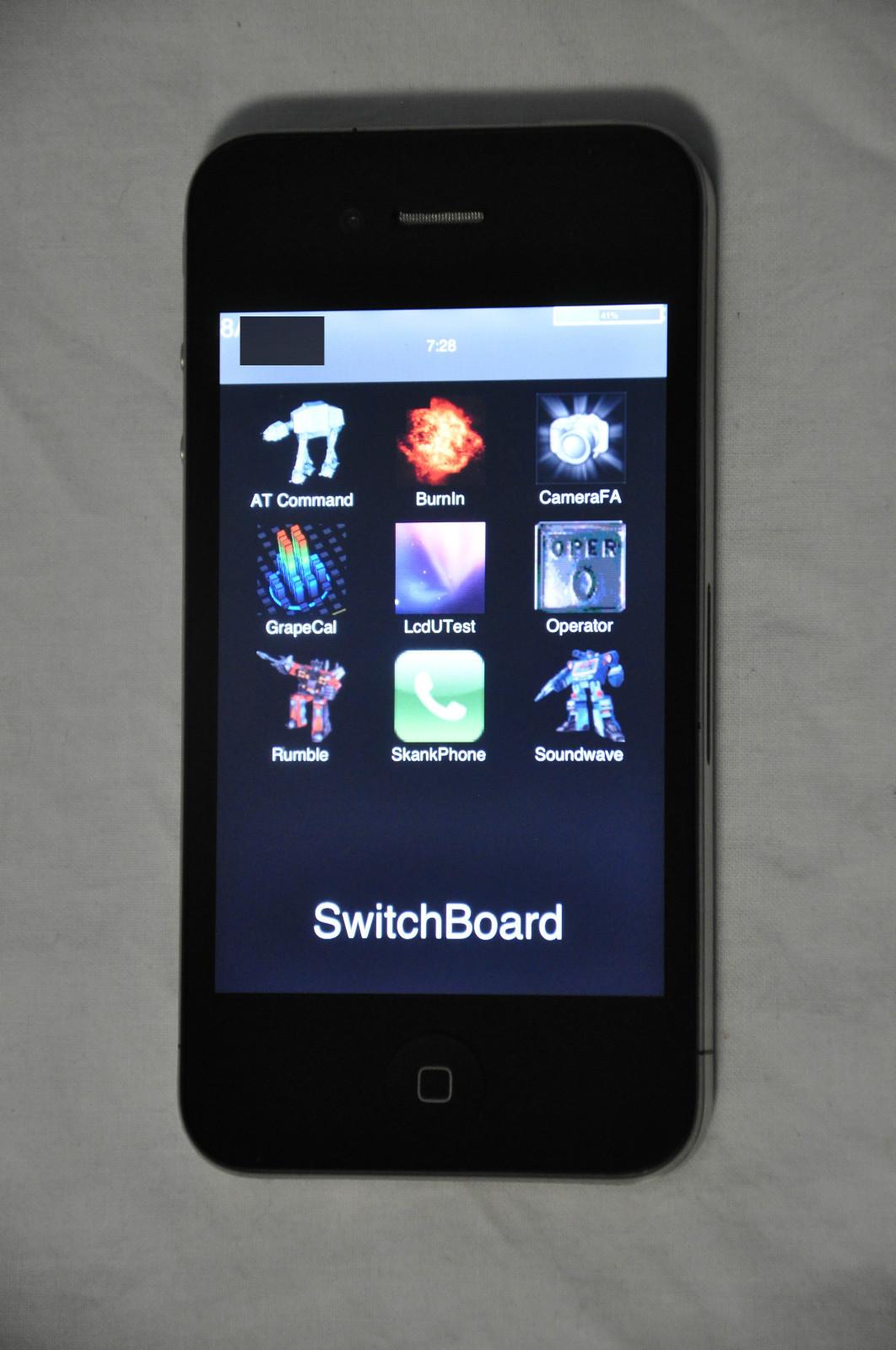 Protótipo de iPhone 4 no eBay