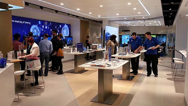 Loja da Samsung em Sydney, Austrália
