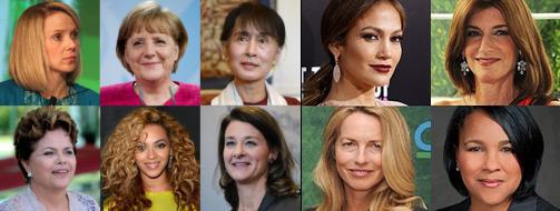 Mulheres mais poderosas do mundo