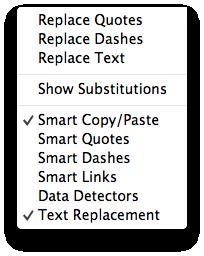Janela - Substituição de Texto