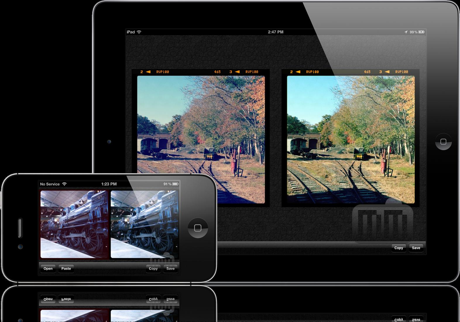 Normalize - iPad e iPhone