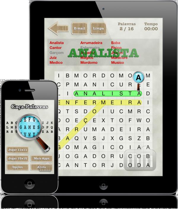 Caça-Palavras - iPad e iPhone