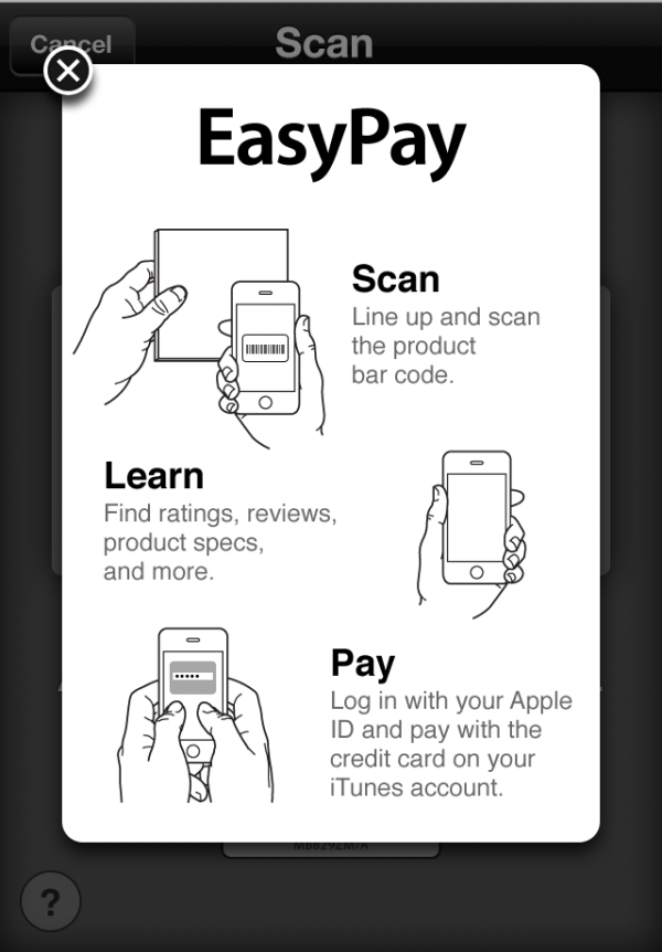 EasyPay no app Apple Store