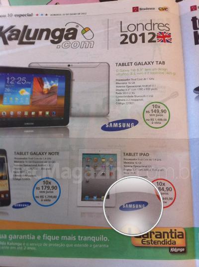 iPad da Samsung