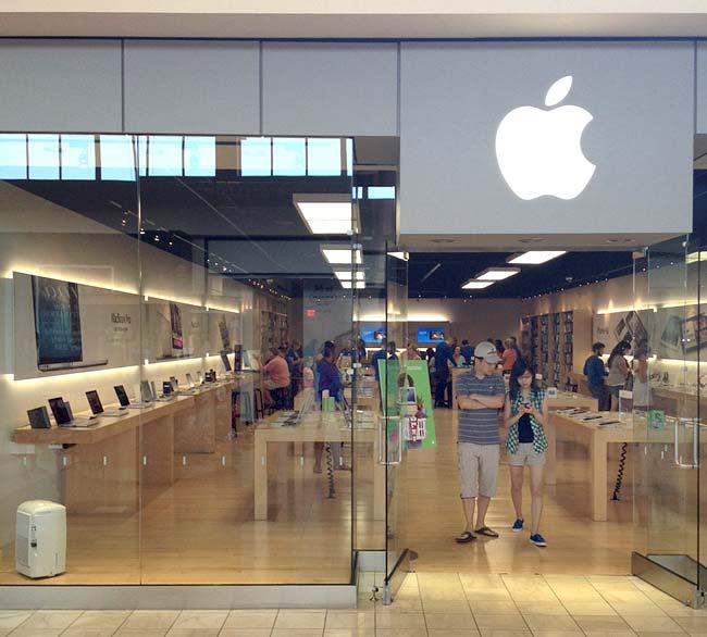 Loja temporária - Apple Store, Walt Whitman