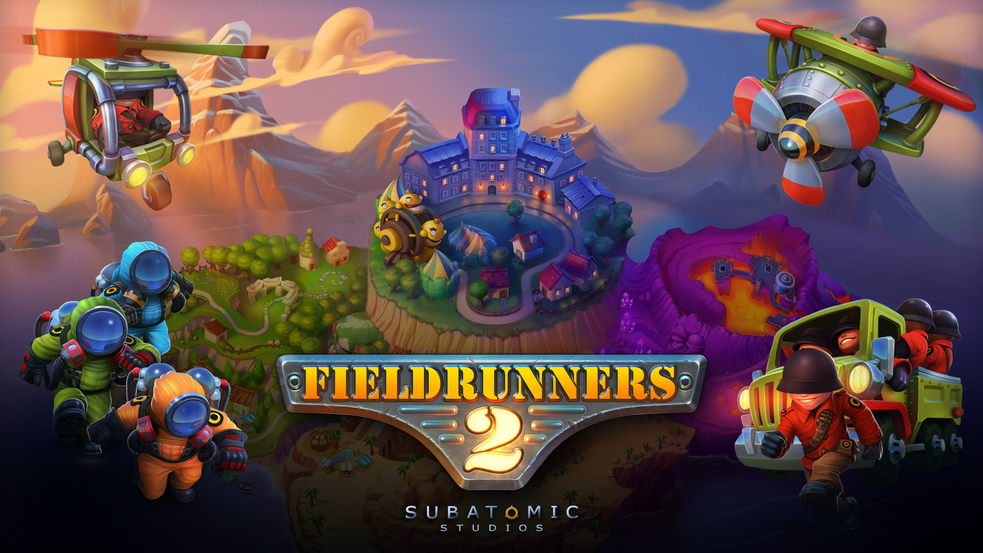 Wallpaper de Fieldrunners 2