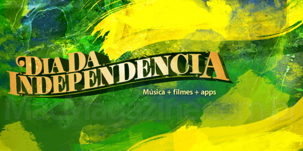 Apple Brasil no Dia da Independência