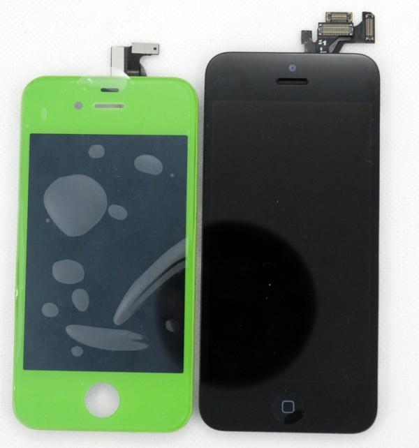 Supostas peças do novo iPhone