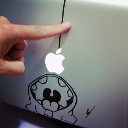 Desenho em MacBook Pro