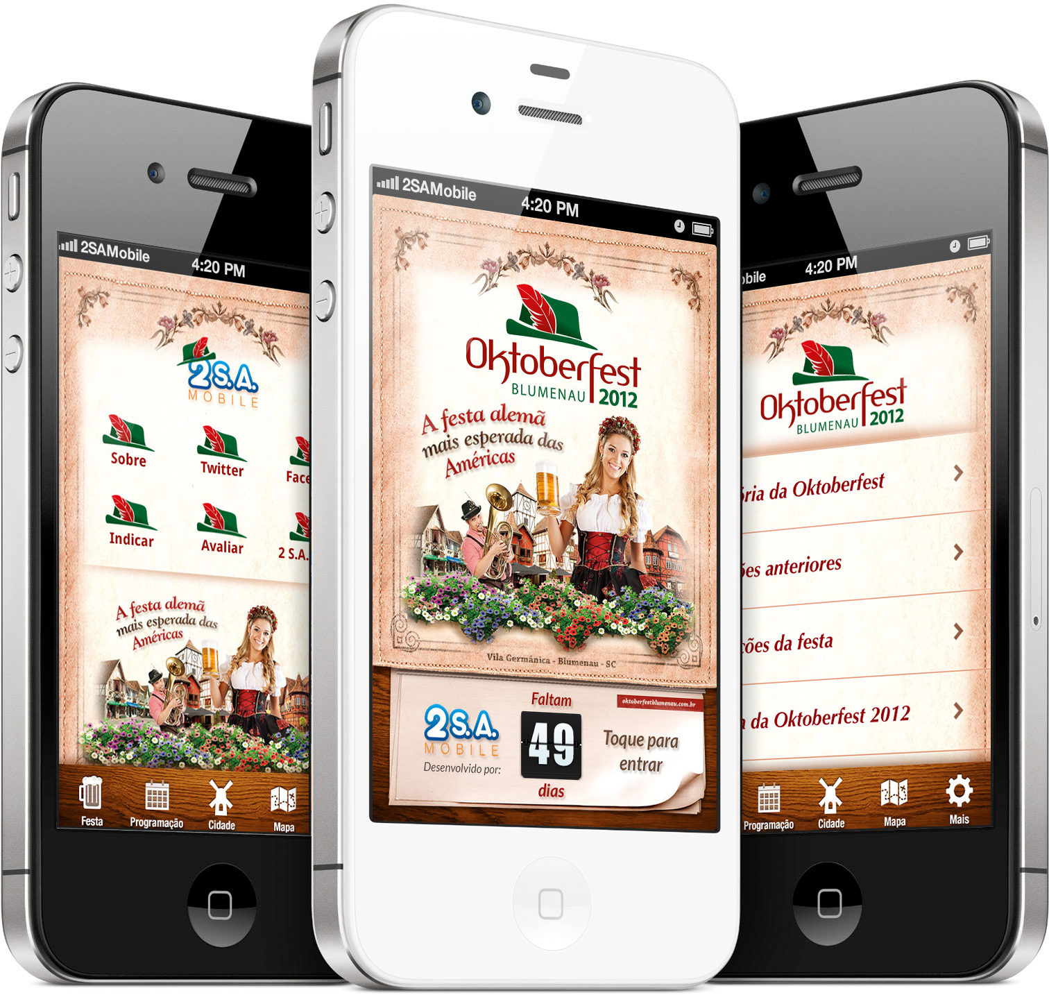 Oktoberfest Blumenau 2012 - iPhones