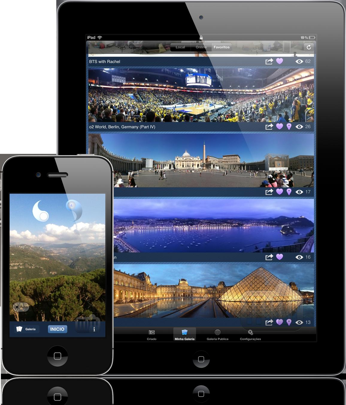 Dermandar Panorama - iPad e iPhone