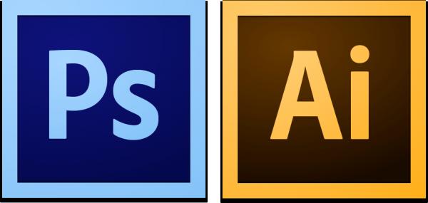 Ícones - Adobe Photoshop e Illustrator CS6