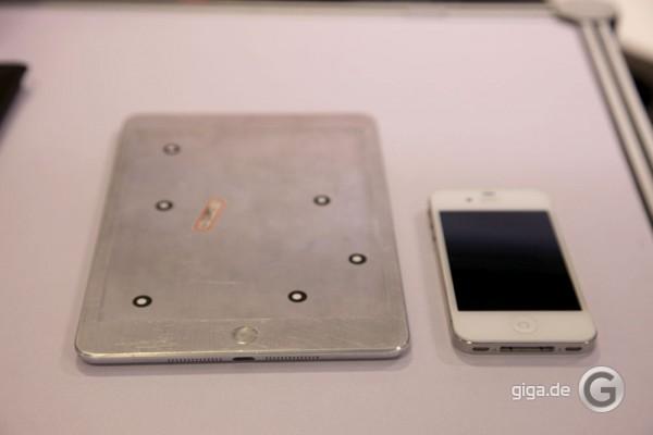 """Mockup do """"iPad mini"""" (GIGA)"""