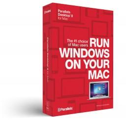 Caixa do Parallels Desktop 8 para Mac