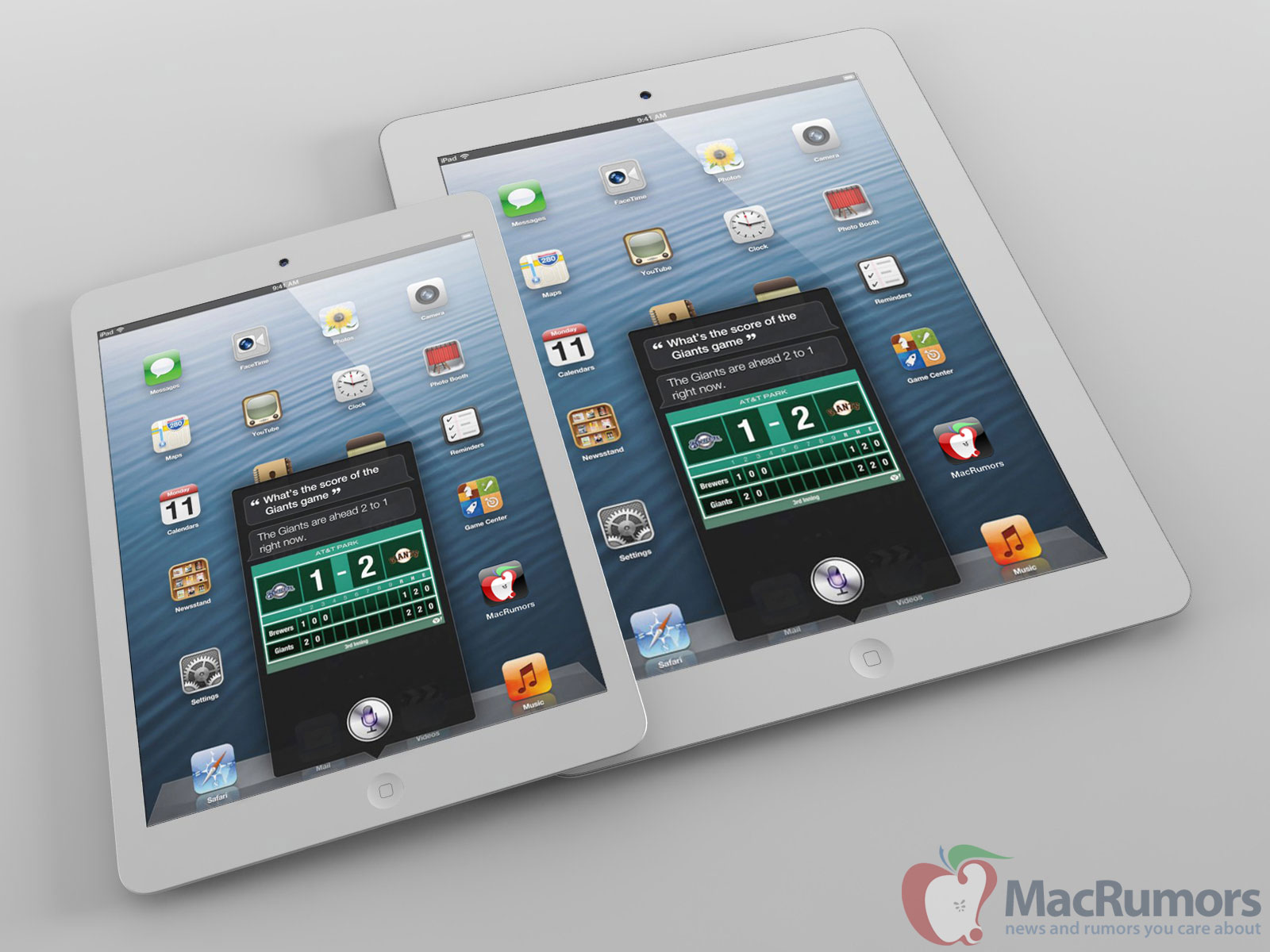 Mockup do iPad mini
