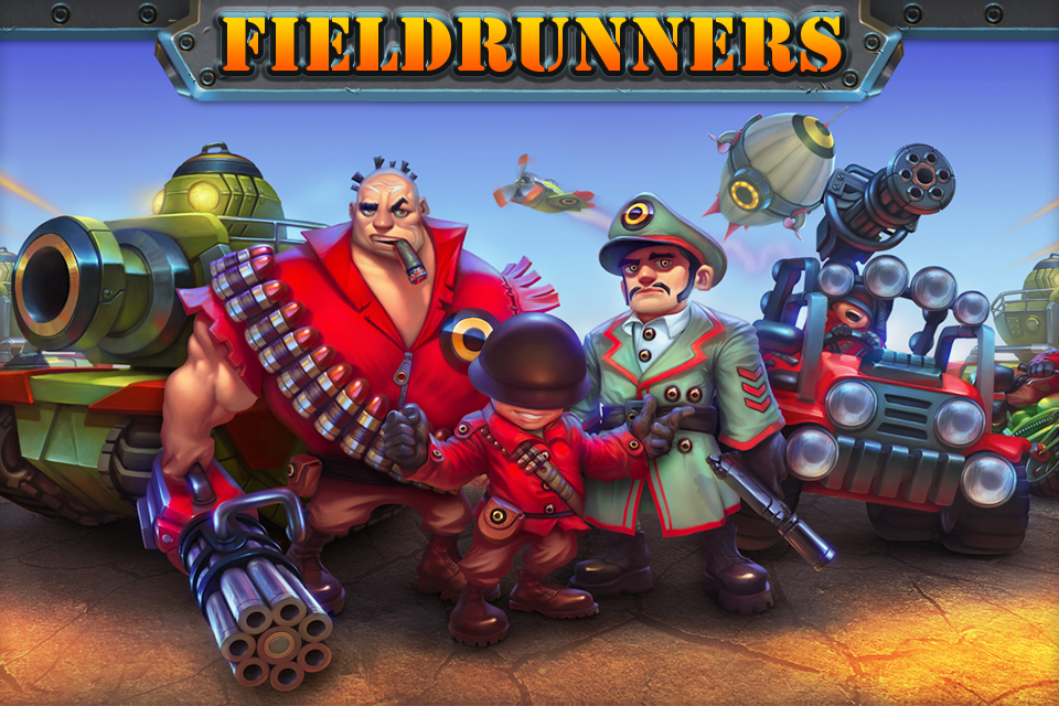 Fieldrunners para iPhones e iPods touch