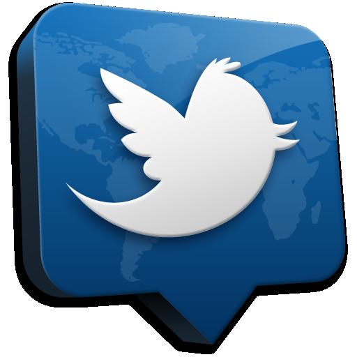 Ícone do Twitter para Mac