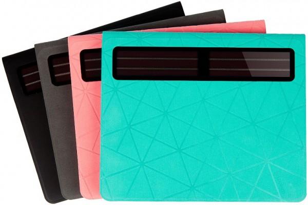 Novas cores do Logitech Solar Keyboard Folio