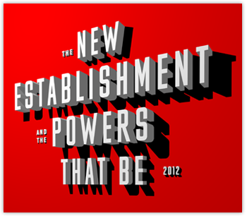 The New Establishment 2012