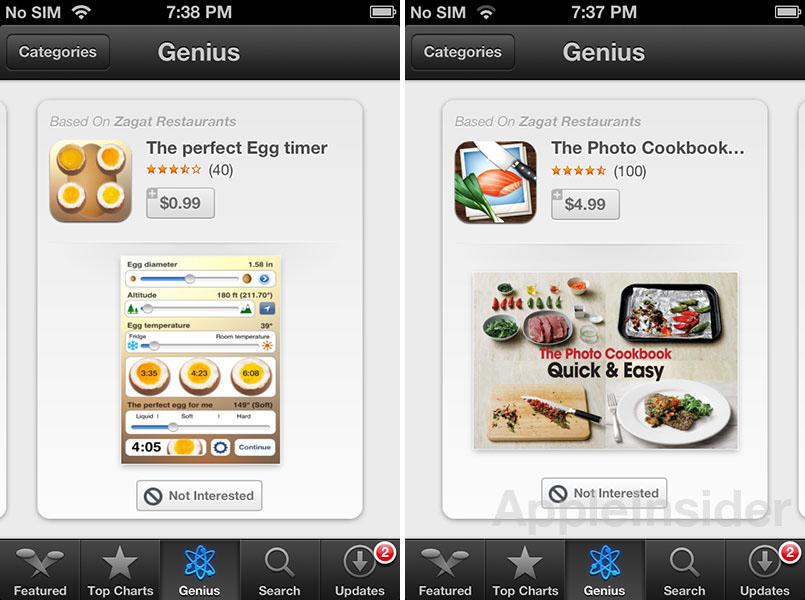 Genius funcionando no iOS 6