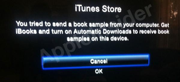 iBooks na Apple TV
