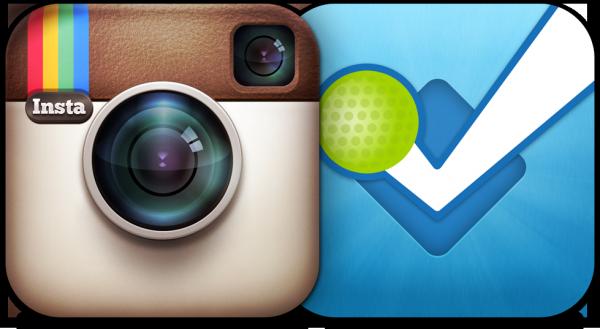 Ícones - Instagram e foursquare