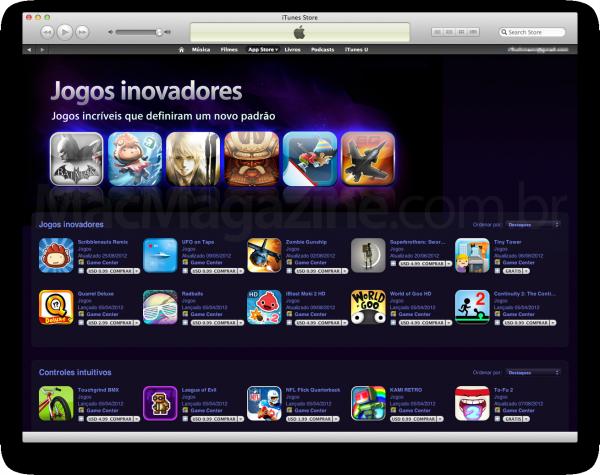Jogos inovadores na App Store