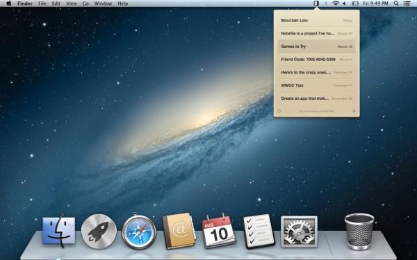 Notefile para OS X