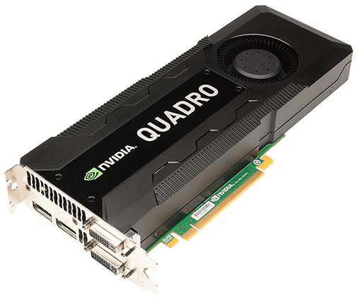 Placa gráfica NVIDIA Quadro K5000