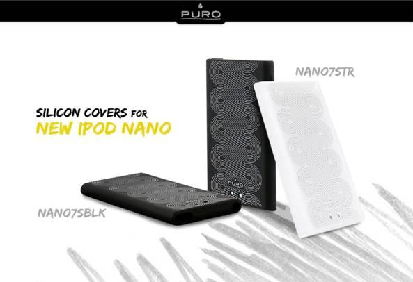 Cases para novos iPods nano e touch