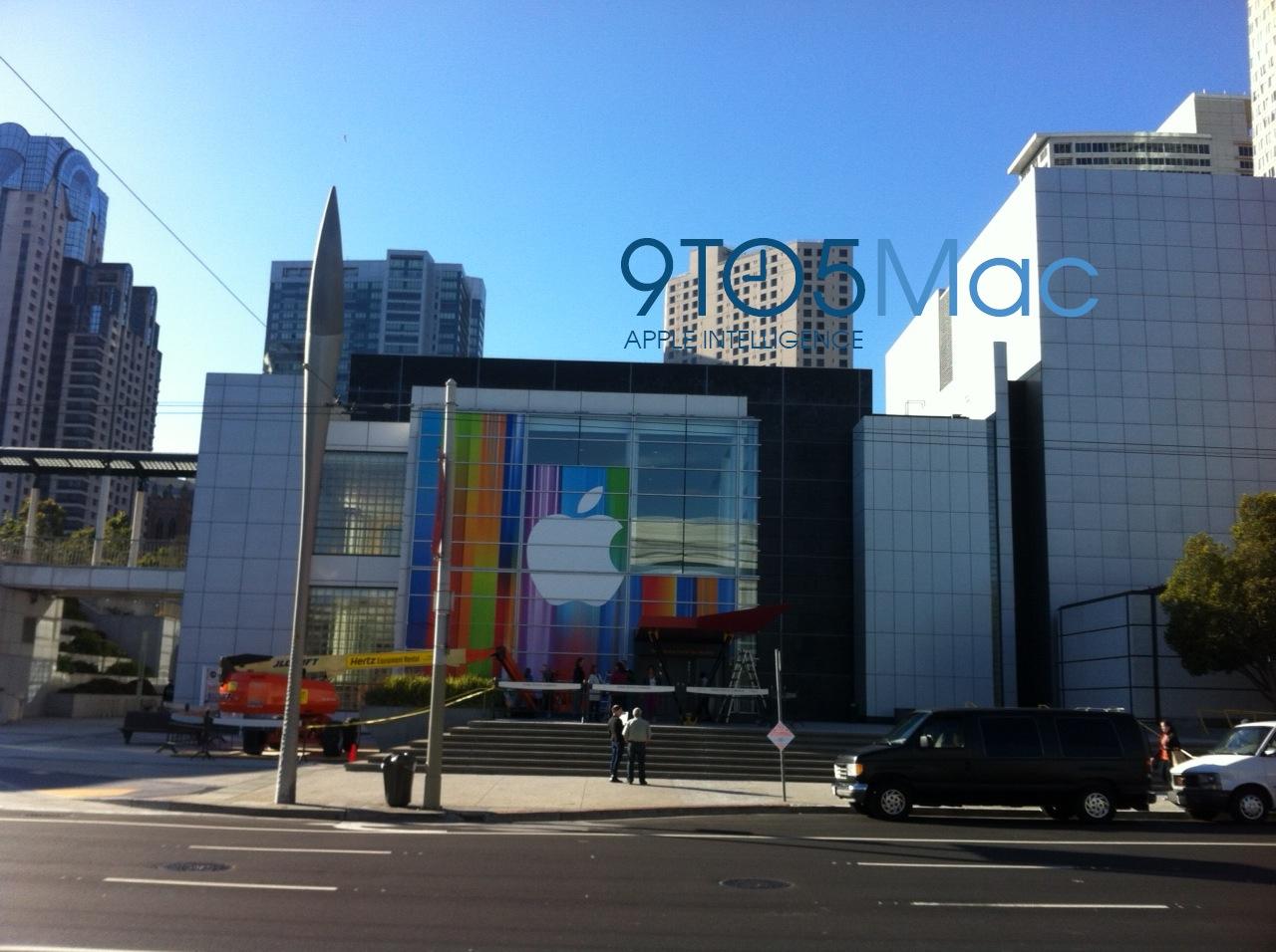 Yerba Buena Center quase pronto pro evento da Apple