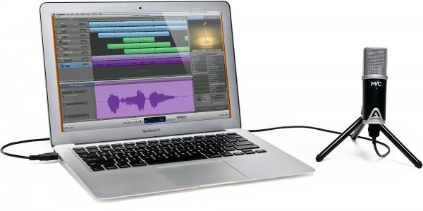 MiC, da Apogee, com MacBook Air